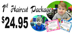 Groovy Cuts for Kids Child's First Haircut Package